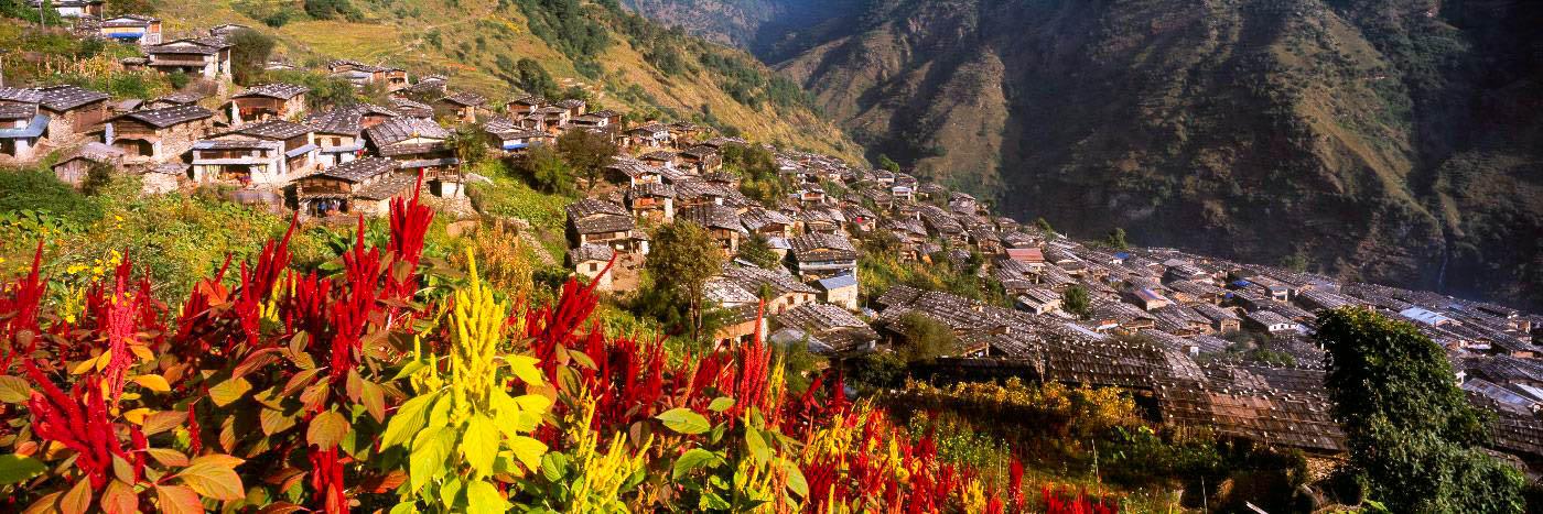 Village de Laprak, Népal