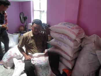 Dambare et sacs riz a livrer