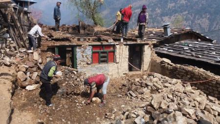 Demolition ancienne maison